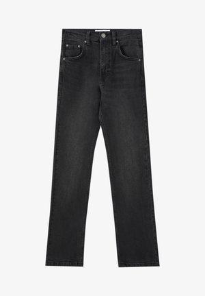 Flared Jeans - black