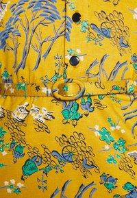 King Louie - DRESS BONSAI - Jerseykjole - spice yellow - 6