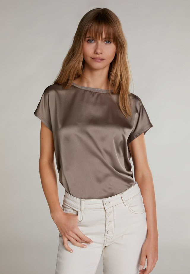 T-shirt basic - light brown