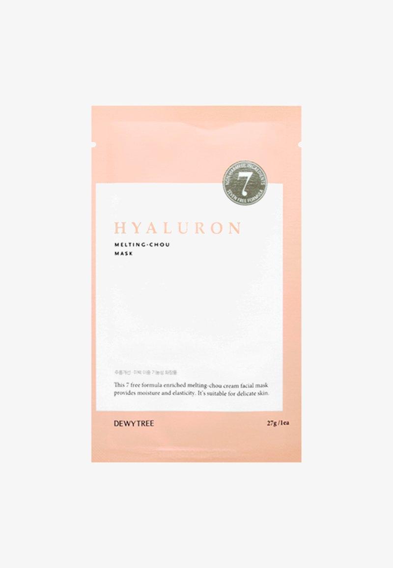 DEWYTREE - HYALURON MELTING-CHOU - Gesichtsmaske - -