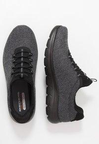 Skechers Wide Fit - SUMMITS - Trainers - black - 1
