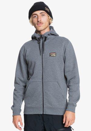 Zip-up sweatshirt - heather grey