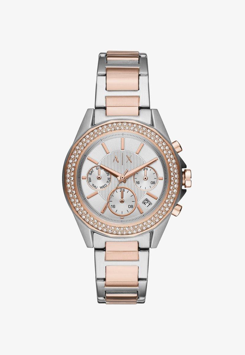 Armani Exchange - Chronograph watch - silver-coloured