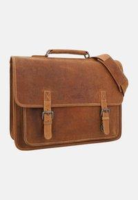 Gusti Leder - Briefcase - brown - 4