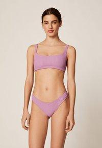OYSHO - Bikini bottoms - mauve - 1