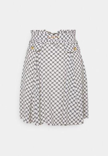 Mini skirt - burro/nero