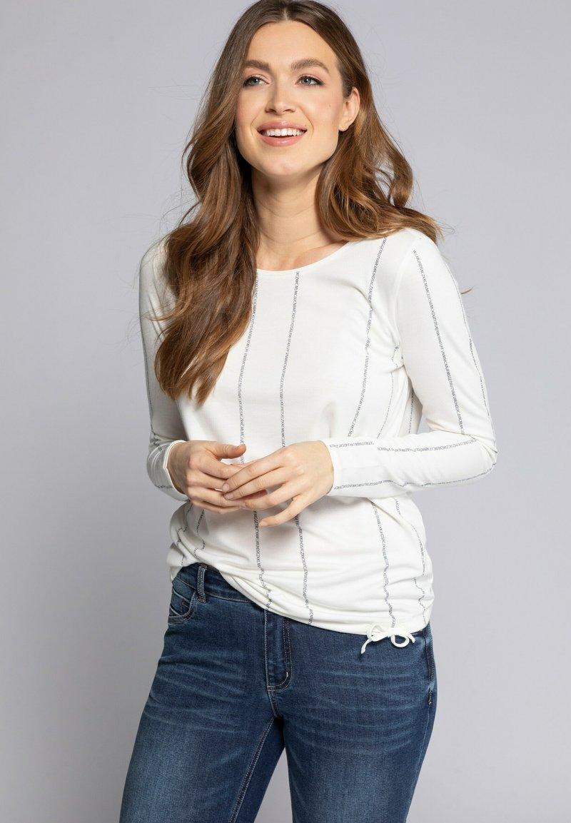 GINA LAURA - Långärmad tröja - offwhite
