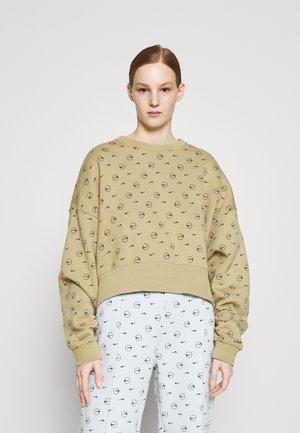 Sweatshirt - parachute beige