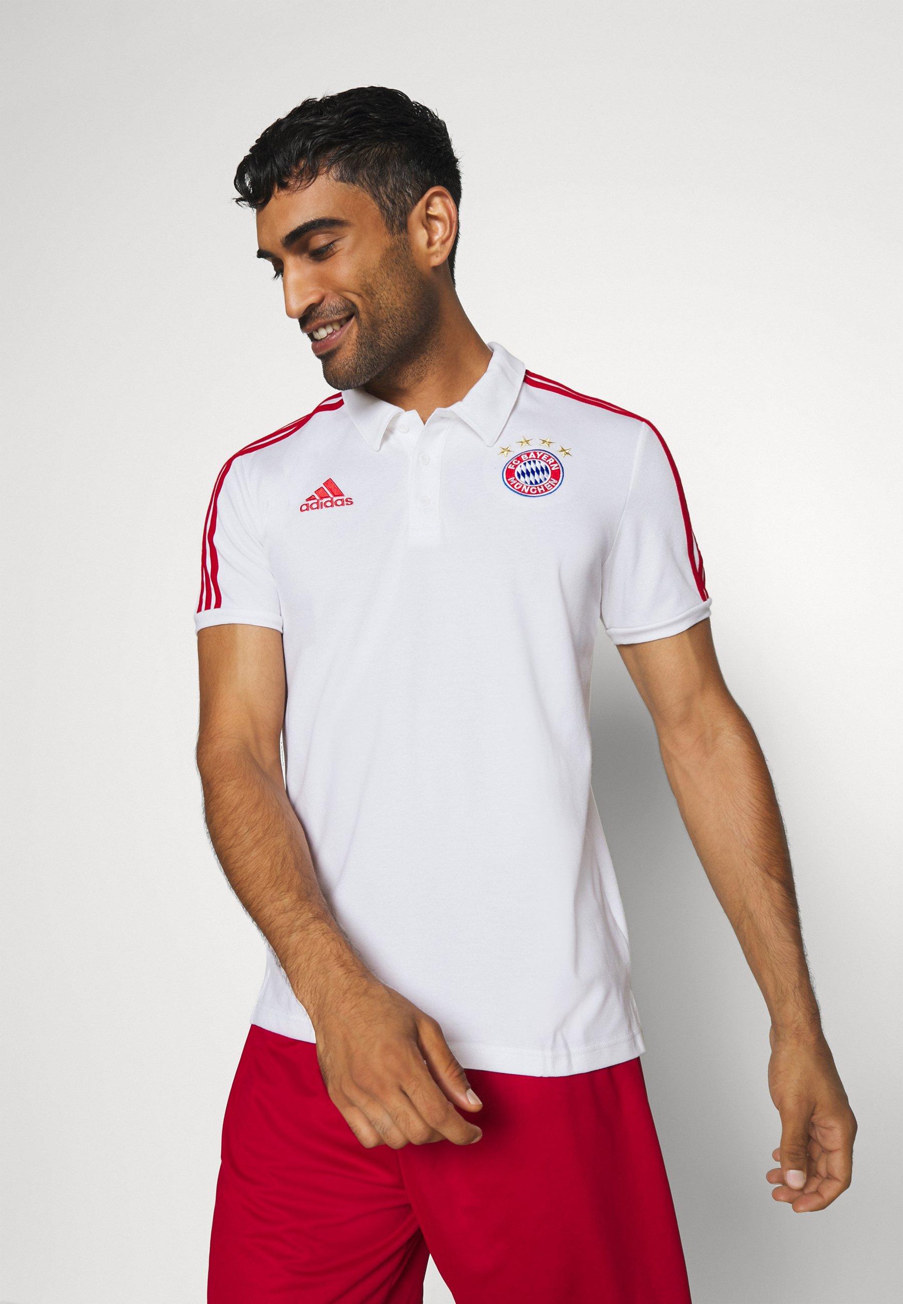 FC BAYERN MÜNCHEN LIFESTYLE 3 STREIFEN Vereinsmannschaften white