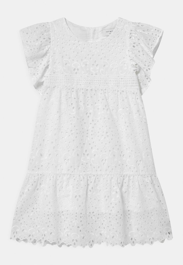 PIMPINELLA - Shirt dress - snow white