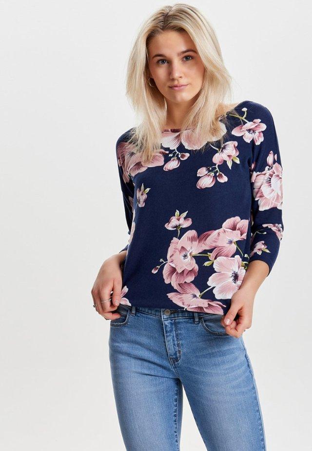 ONLELCOS - Langærmede T-shirts - blue