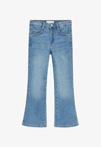 Mango - Flared Jeans - middenblauw - 0