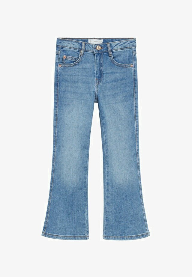 Flared Jeans - middenblauw