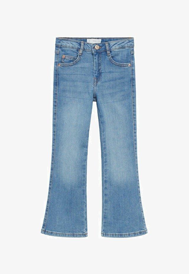 Jeans a zampa - middenblauw