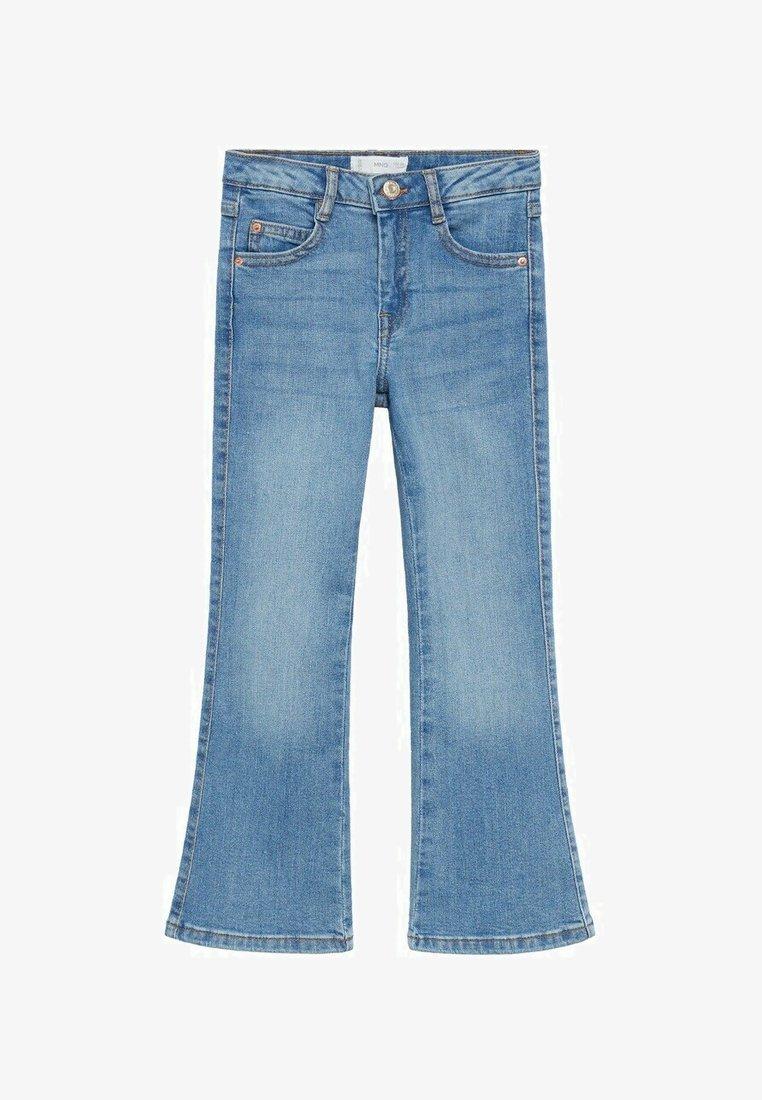 Mango - Flared Jeans - middenblauw