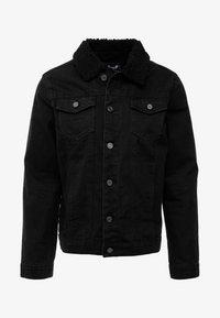 Brave Soul - WILBUR - Denim jacket - black denim - 4