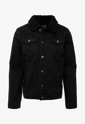 WILBUR - Jeansjacka - black denim