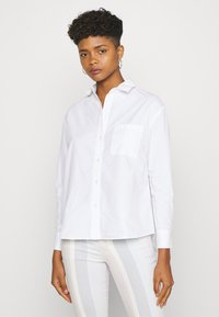 Pieces - PCALABAMA - Button-down blouse - bright white - 0