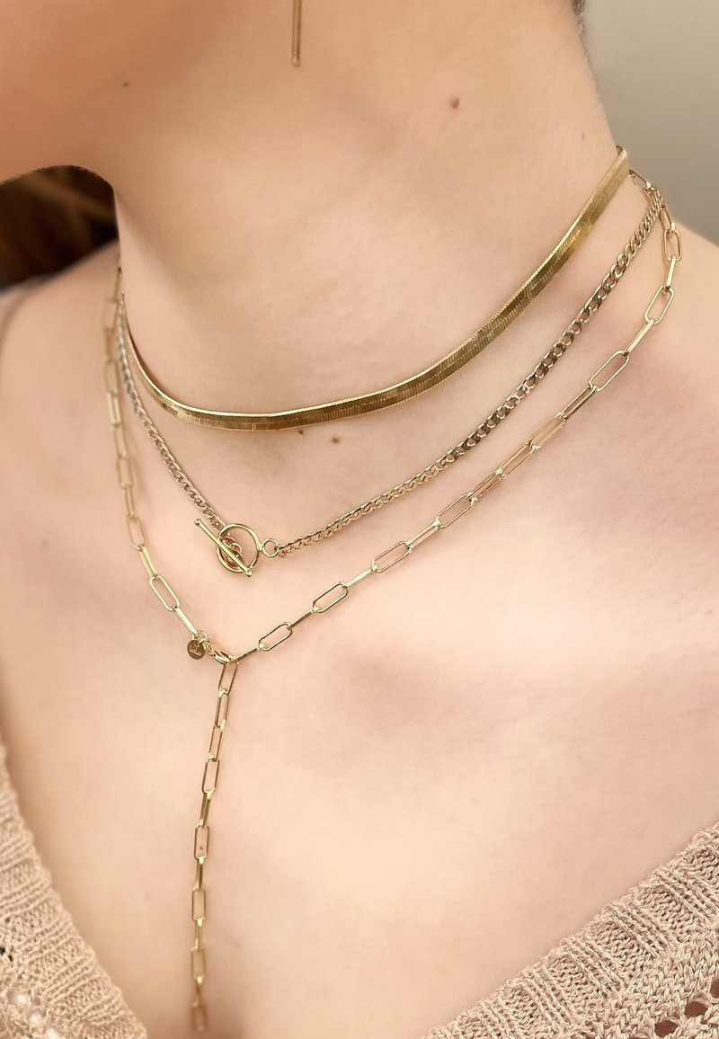 LOLA - Necklace - gold-coloured