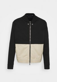 Neil Barrett - TRAVEL SLIM BOMBER - Bomber Jacket - black/natural - 5