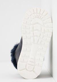 Steiff Shoes - HOLLIEE - Nauhalliset nilkkurit - blue - 5