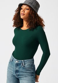 America Today - SINGLET LIONELLA - Long sleeved top - green - 0