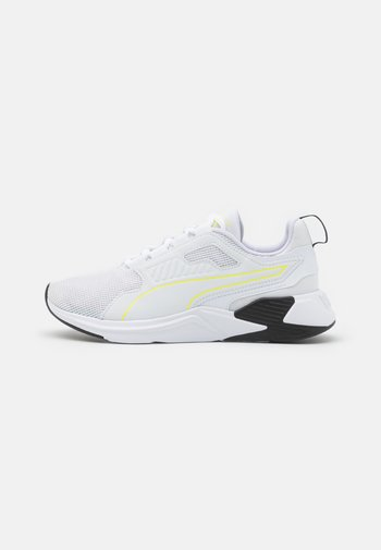 DISPERSE XT - Zapatillas de entrenamiento - white/soft fluo yellow