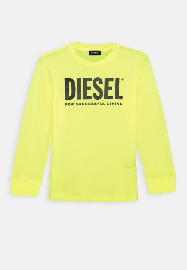TJUSTLOGO ML MAGLIET UNISEX - Long sleeved top - super bright yellow
