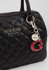Guess - MELISE BOX SATCHEL - Handbag - black - 6