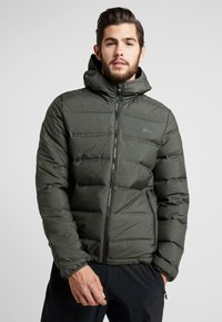 adidas Performance - HELIONIC DOWN JACKET - Chaqueta de invierno - olive - 0