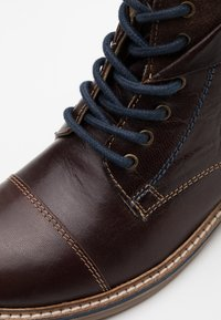 Friboo - Lace-up ankle boots - dark brown - 5