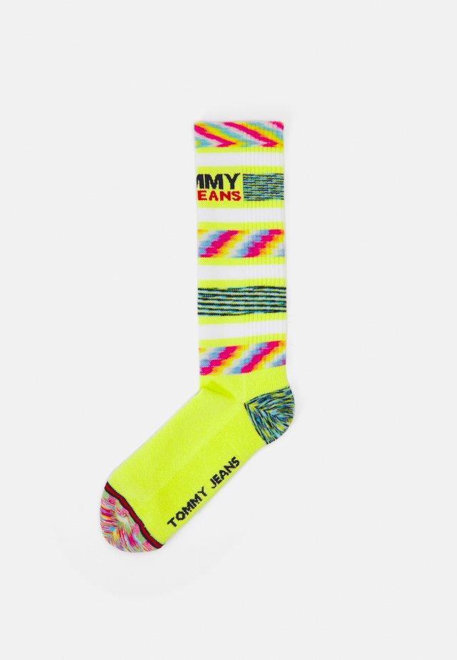 SPACE SOCKS UNISEX - Ponožky - lime