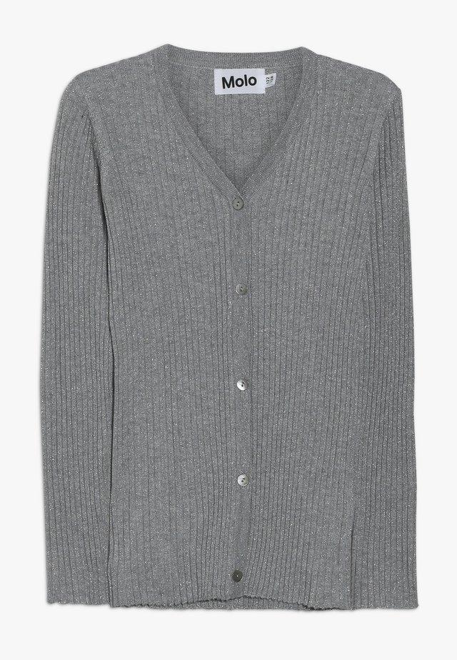 GENIE - Cardigan - grey melange
