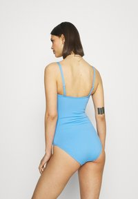 Marks & Spencer London - MAGIC BANDEAU - Swimsuit - blue - 2
