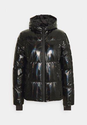 LOGO HOLOGRAPHIC SKI JACKET - Winter jacket - black