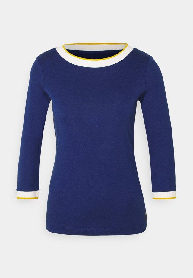 SOLID TEE - Bluzka z długim rękawem - dark blue
