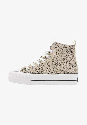 KAYA MID - Sneakers hoog - lt grey cheetah