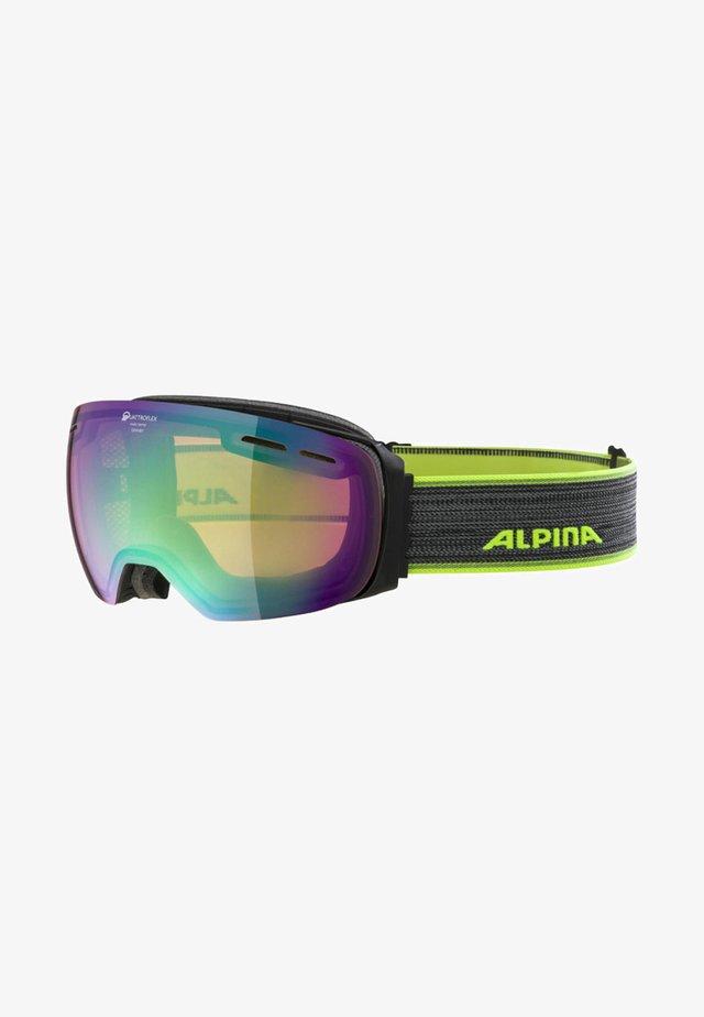 Ski goggles - neon yellow