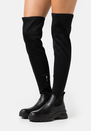SAMBA - Over-the-knee boots - black