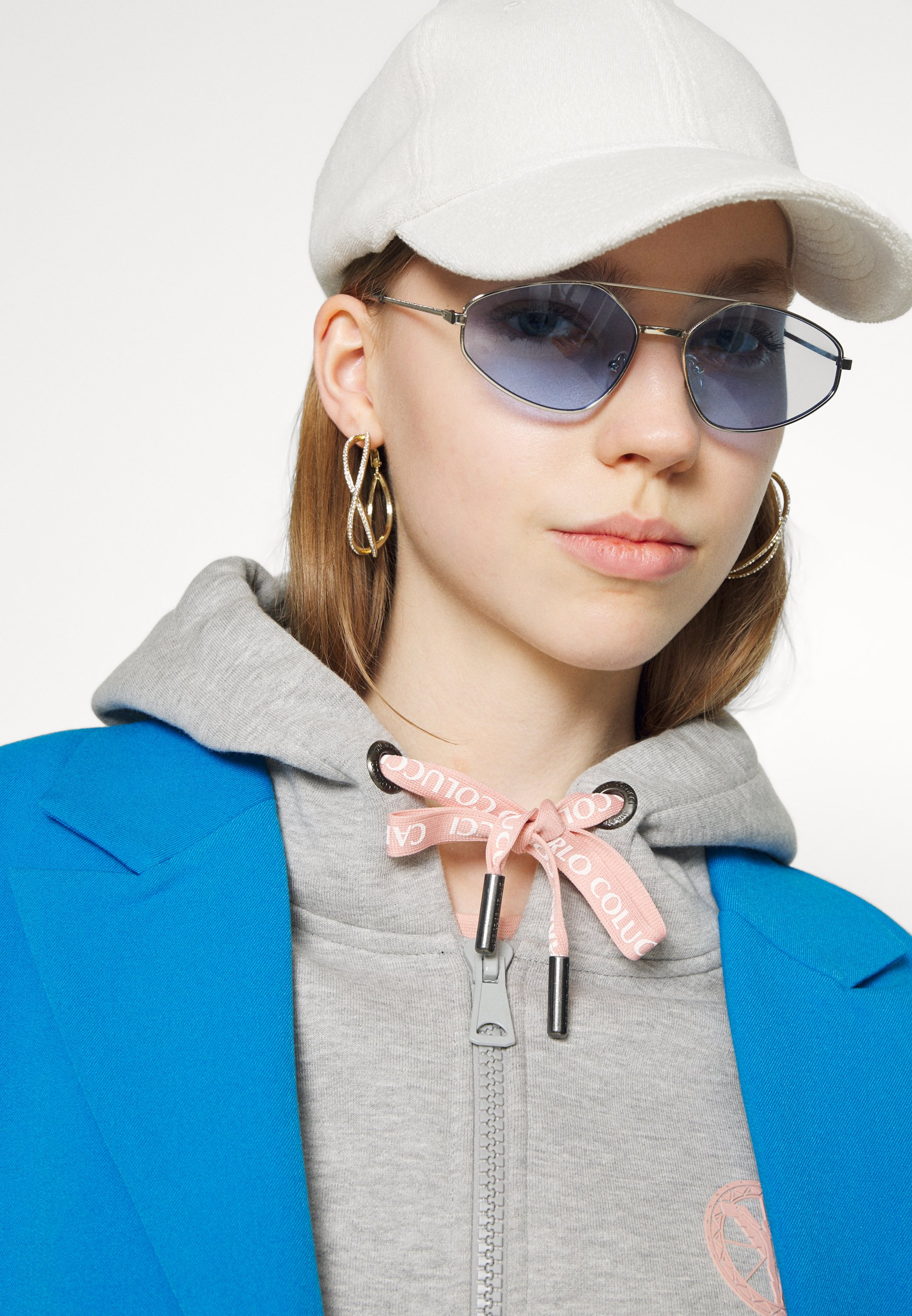 Women BASIC - Zip-up sweatshirt