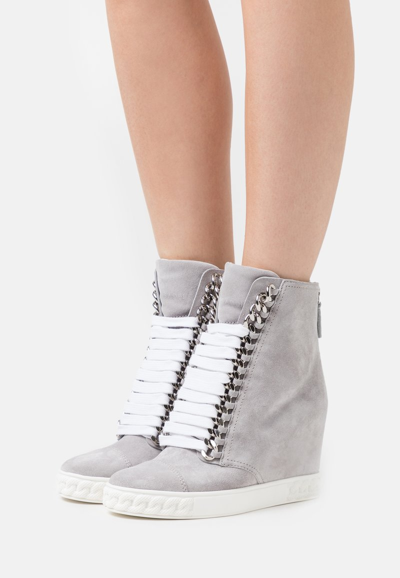 Casadei - JOLLY  - High-top trainers - rock/ice
