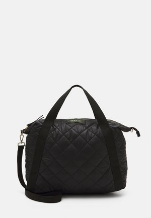 DAY GWENETH CHECKY CROSS - Shopping bag - black