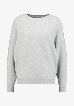 NMSHIP O-NECK - Sweter - light grey melange