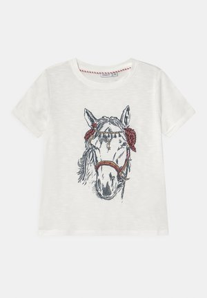 NKFTHUNILLA - T-shirt print - bright white