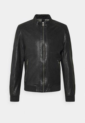 GRAHAN  - Leather jacket - black