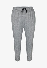Zizzi - MIT TASCHEN - Trousers - grey - 1