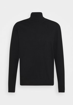 BURNS - Strickpullover - black