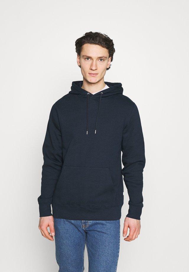 EDDIE CLASSIC HOODIE - Sweatshirt - navy