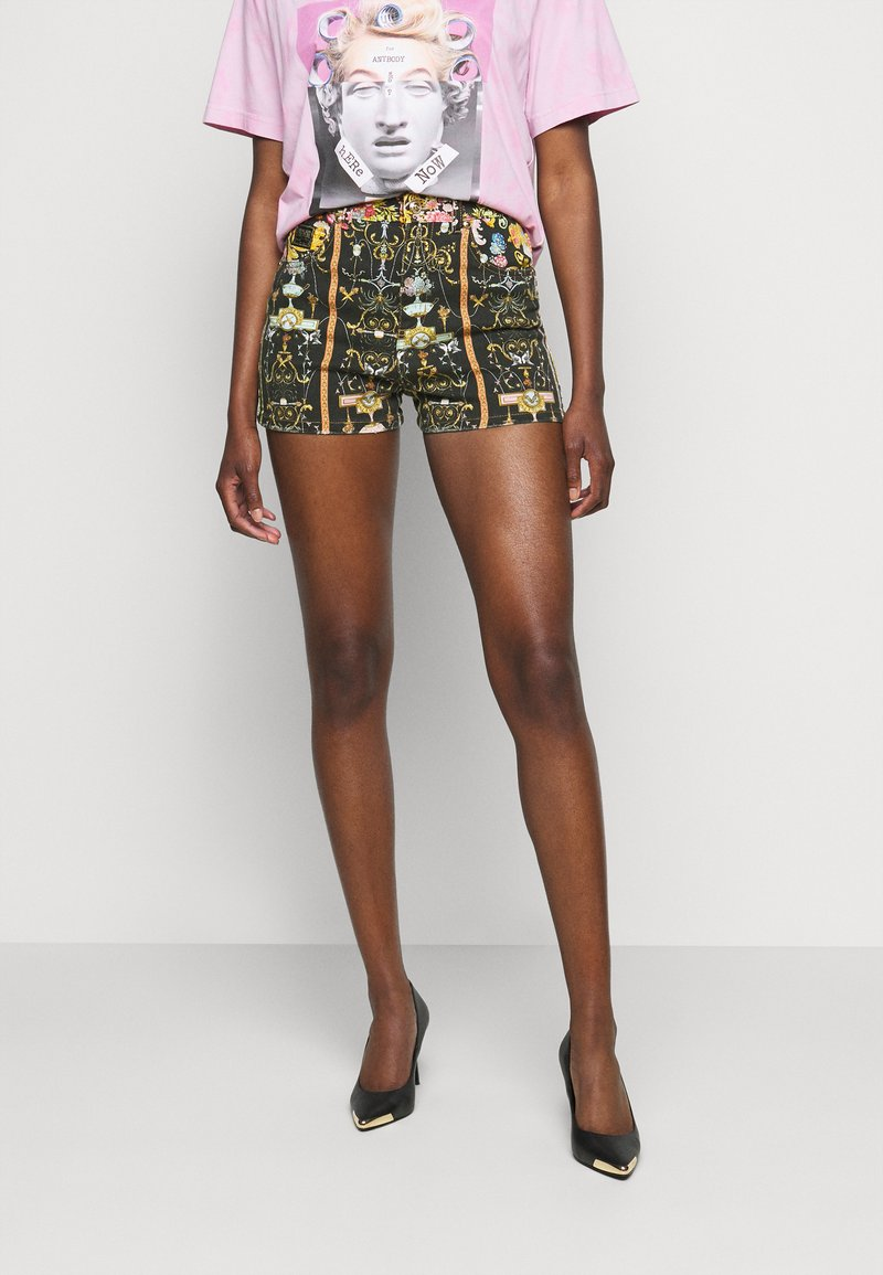 Versace Jeans Couture - LADY - Shorts - black