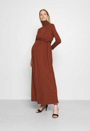 DORIS - Maxi dress - marsalla